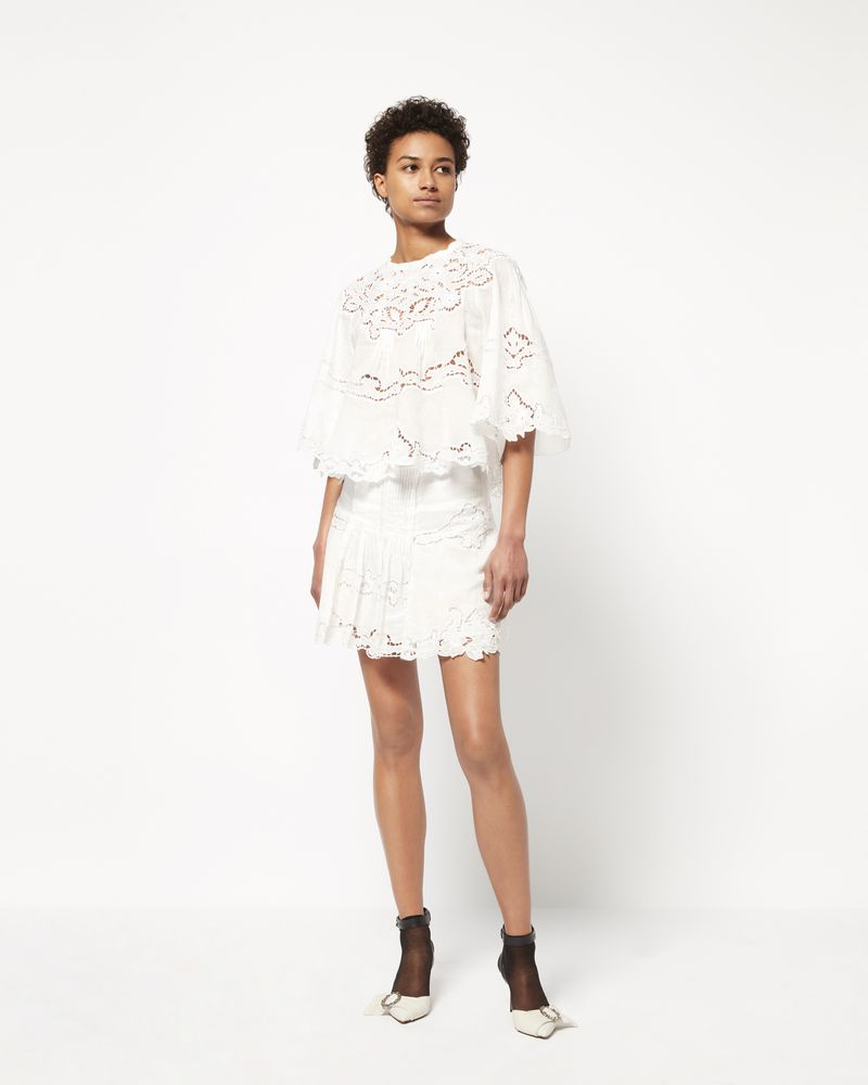 MARION skirt in ramie fabric ISABEL MARANT