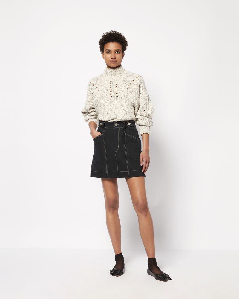 GAYLE denim mini skirt ISABEL MARANT