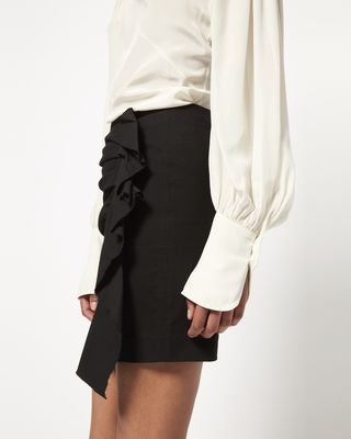 ISABEL MARANT SHORT SKIRT Woman NEFLY stretch skirt r