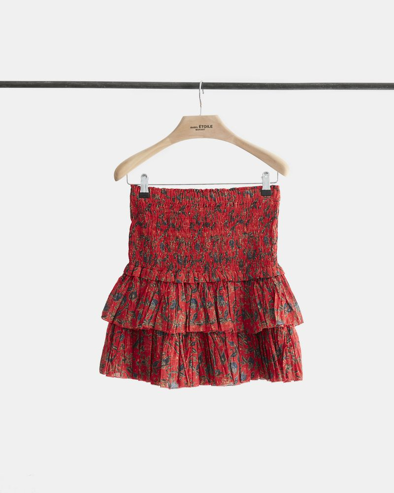 NAOMA printed skirt ISABEL MARANT ÉTOILE