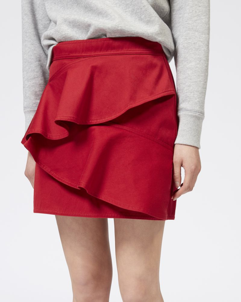 DOALI cotton skirt ISABEL MARANT ÉTOILE