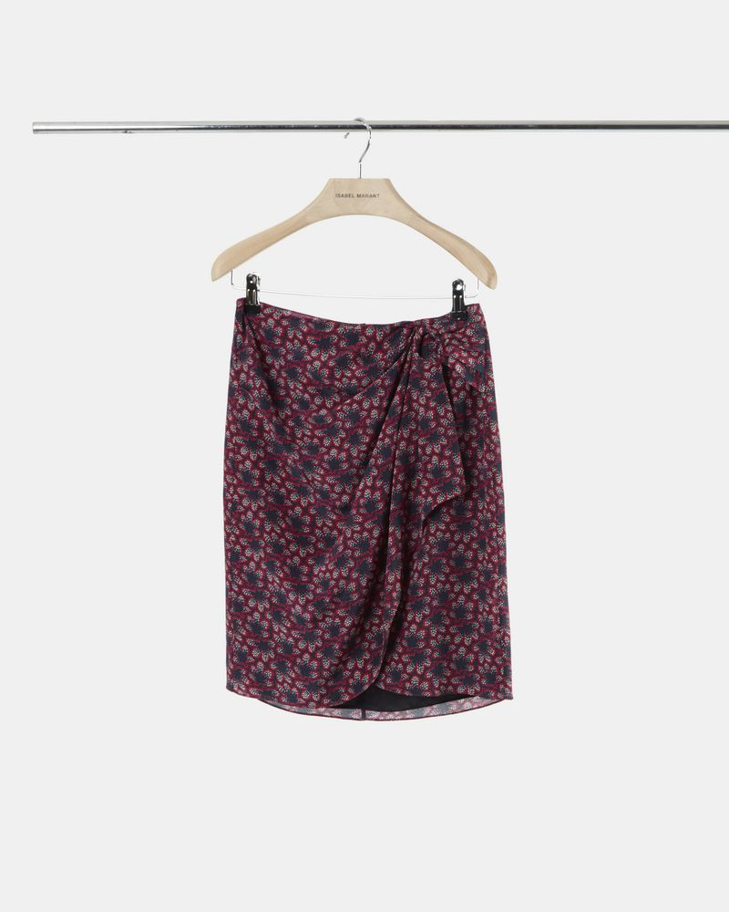 LIVIA printed silk skirt ISABEL MARANT