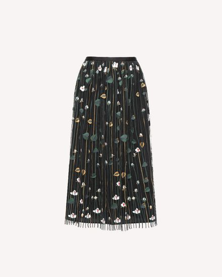 REDValentino Skirt Woman QR3RA03C3UG 0NO a