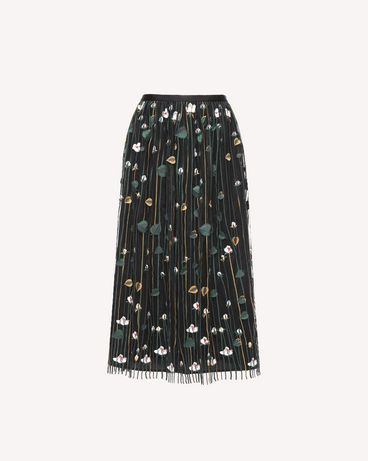 REDValentino QR3RA03C3UG 0NO Skirt Woman a