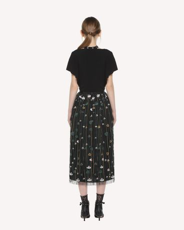 REDValentino QR3RA03C3UG 0NO Skirt Woman r