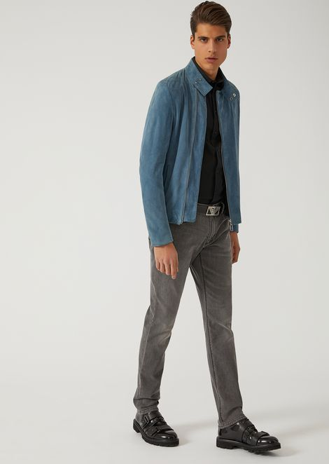 SLIM FIT SHIRT IN STRETCH COTTON