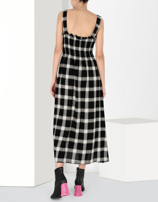 MM6 MAISON MARGIELA Long checked woollen dress Long skirt [*** pickupInStoreShipping_info ***] d