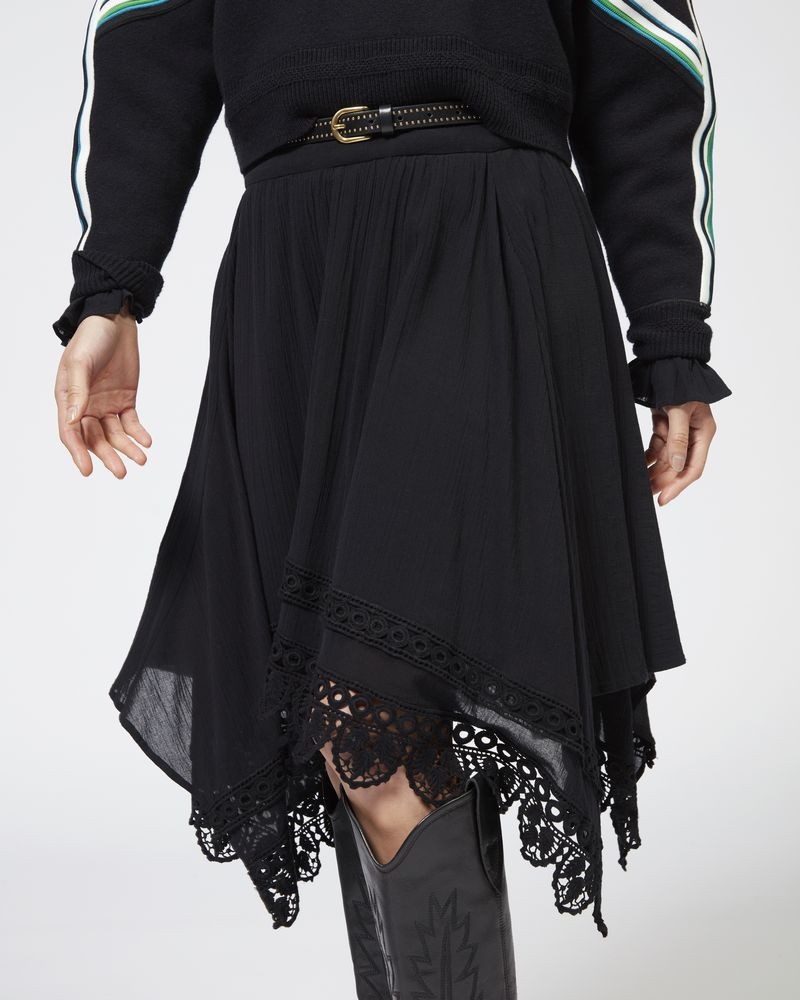 RODNEY skirt in embroidered cotton ISABEL MARANT ÉTOILE