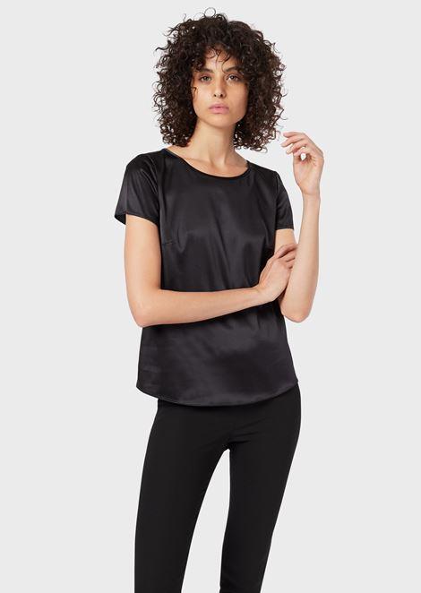 f23d03411e3183 Women's Shirts Tops | Emporio Armani