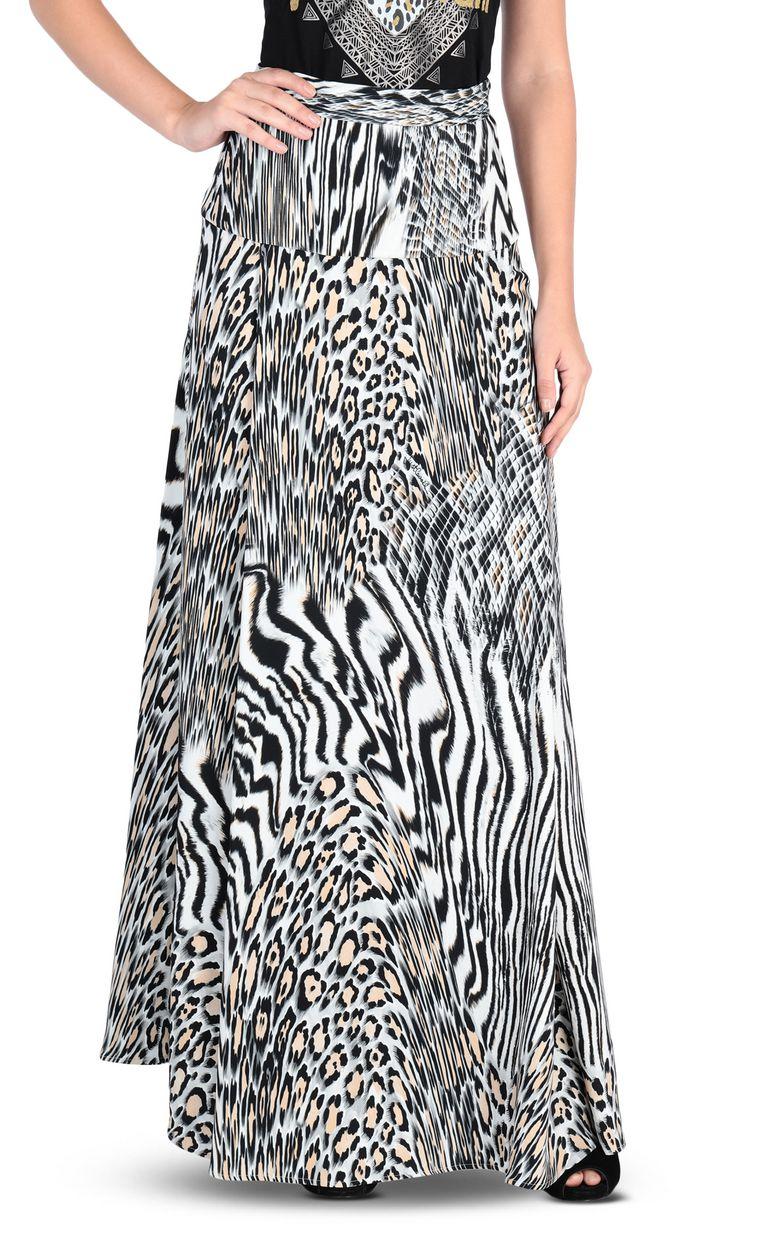 JUST CAVALLI Zoology-print maxi skirt Skirt [*** pickupInStoreShipping_info ***] f