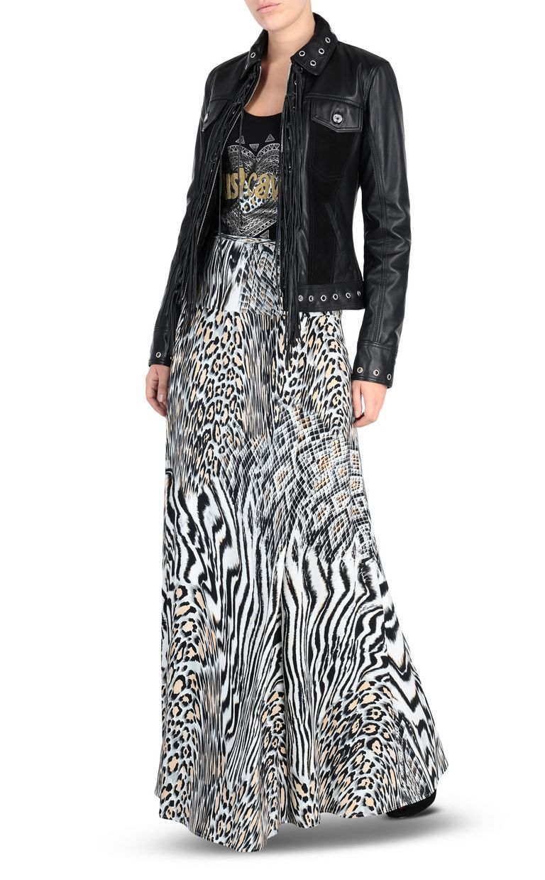 JUST CAVALLI Zoology-print maxi skirt Skirt [*** pickupInStoreShipping_info ***] r
