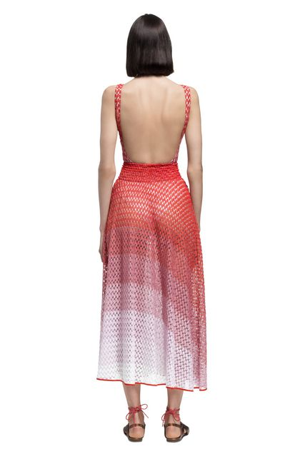 MISSONI MARE Beachwear skirt Light pink Woman - Front