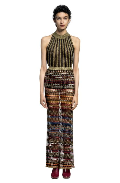 MISSONI Skirt Dark brown Woman - Front