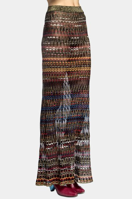 MISSONI Skirt Dark brown Woman - Back