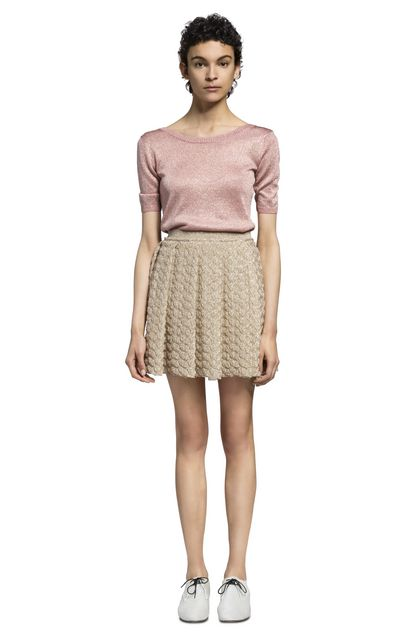 MISSONI Skirt Gold Woman - Front