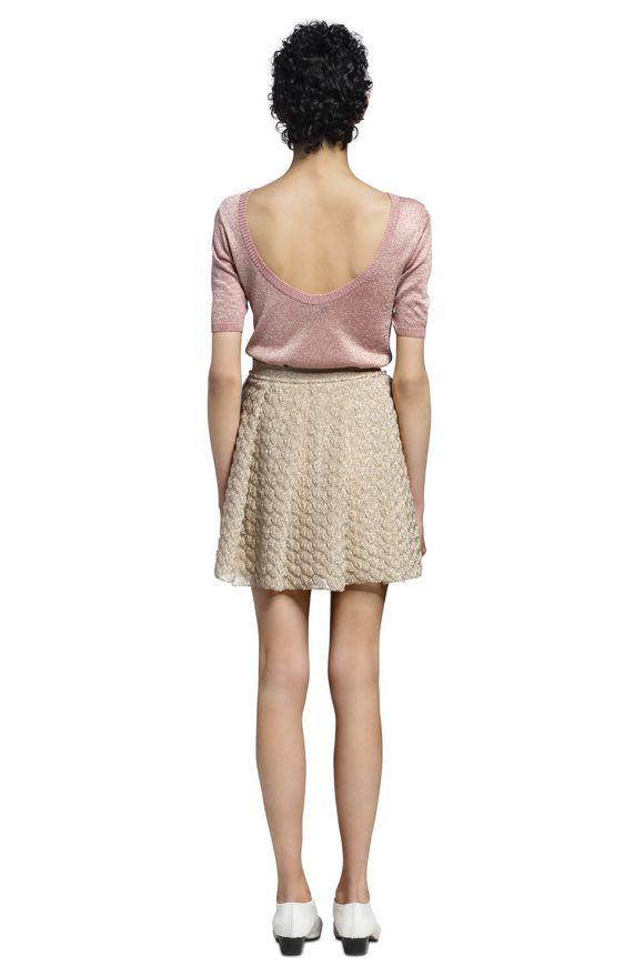 MISSONI Falda Mujer, Vista lateral