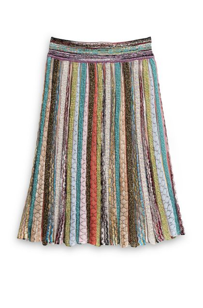 MISSONI Skirt Turquoise Woman - Front