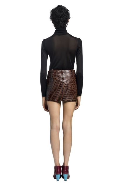 MISSONI Miniskirt Brown Woman - Front