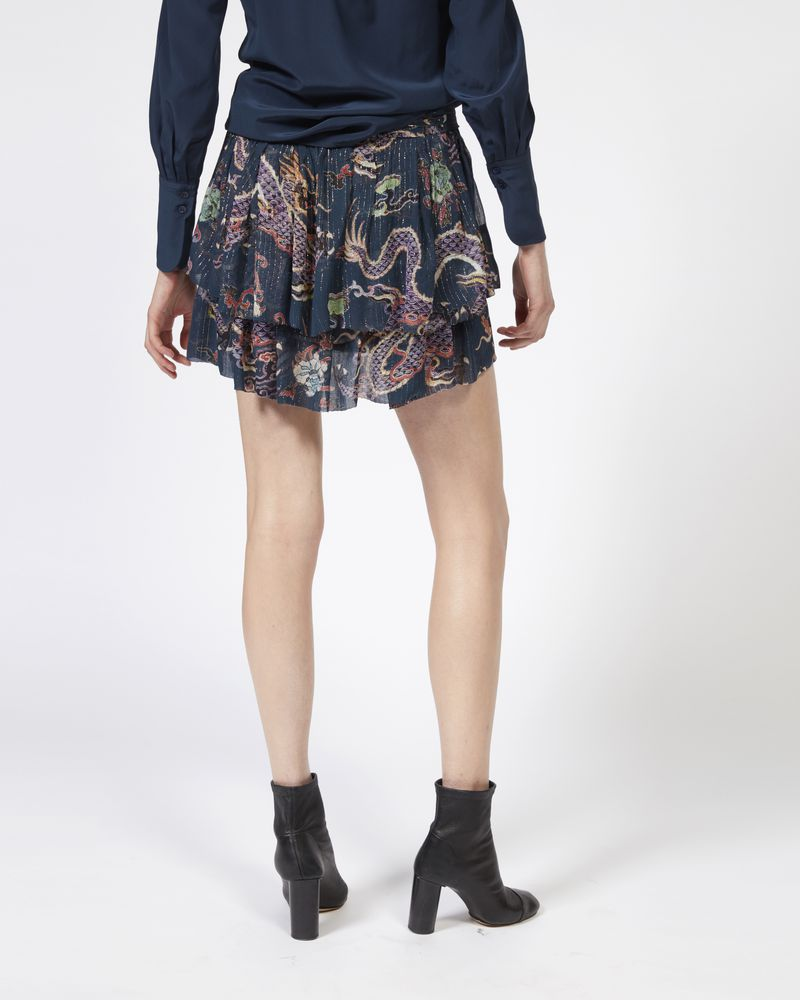 DAHLIA metallic printed skirt ISABEL MARANT