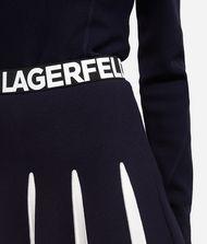 KARL LAGERFELD Rock mit Kontrasteinsätzen 9_f