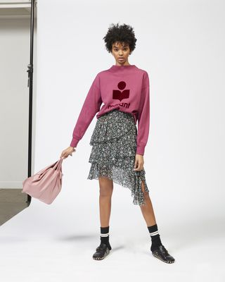 JEEZON asymmetric skirt