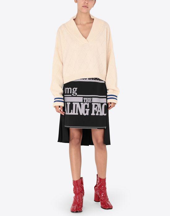 MAISON MARGIELA Vitamin print skirt Knee length skirt [*** pickupInStoreShipping_info ***] d