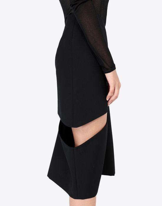 MAISON MARGIELA Décortiqué asymmetrical skirt Knee length skirt [*** pickupInStoreShipping_info ***] a