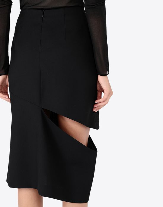 MAISON MARGIELA Décortiqué asymmetrical skirt Knee length skirt [*** pickupInStoreShipping_info ***] b