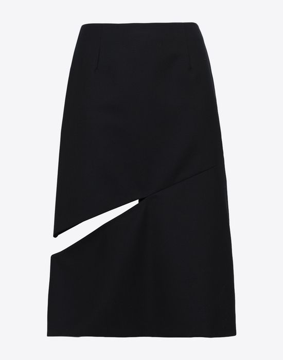 MAISON MARGIELA Décortiqué asymmetrical skirt Knee length skirt [*** pickupInStoreShipping_info ***] f
