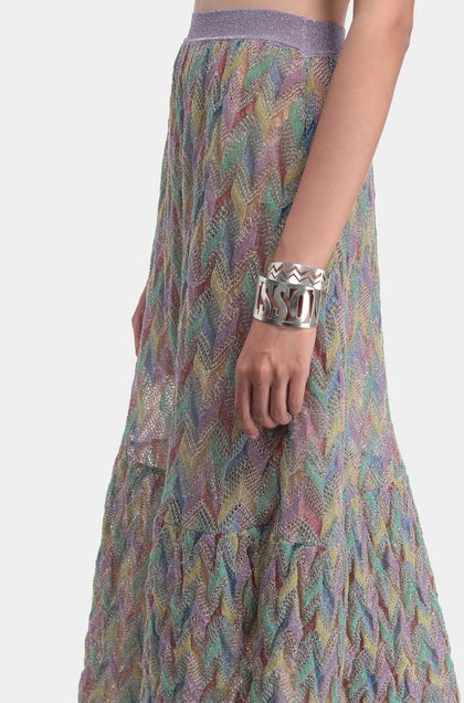 MISSONI Skirt Lilac Woman - Back