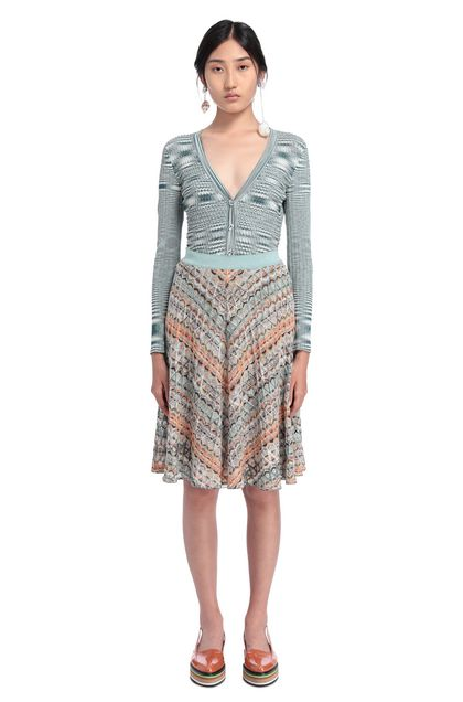 MISSONI Skirt Light green Woman - Front