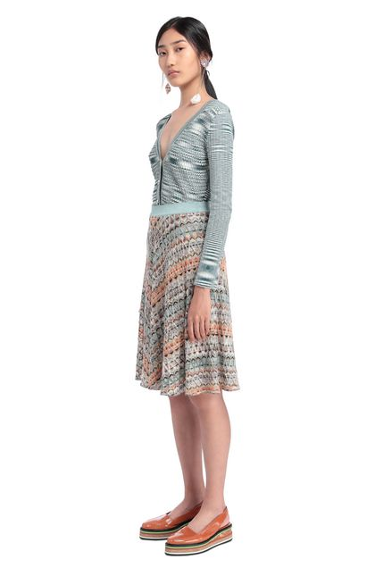 MISSONI Skirt Light green Woman - Back