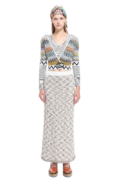 MISSONI Skirt White Woman - Back