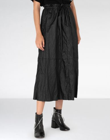 MM6 MAISON MARGIELA Long skirt [*** pickupInStoreShipping_info ***] Crinkled patchwork midi skirt f