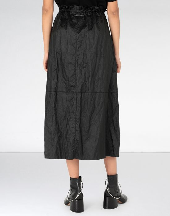 MM6 MAISON MARGIELA Crinkled patchwork midi skirt Long skirt [*** pickupInStoreShipping_info ***] d