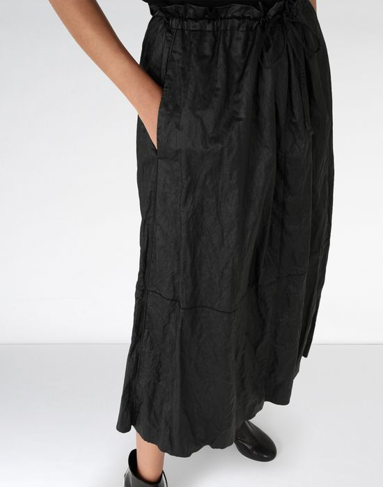 MM6 MAISON MARGIELA Crinkled patchwork midi skirt Long skirt [*** pickupInStoreShipping_info ***] e