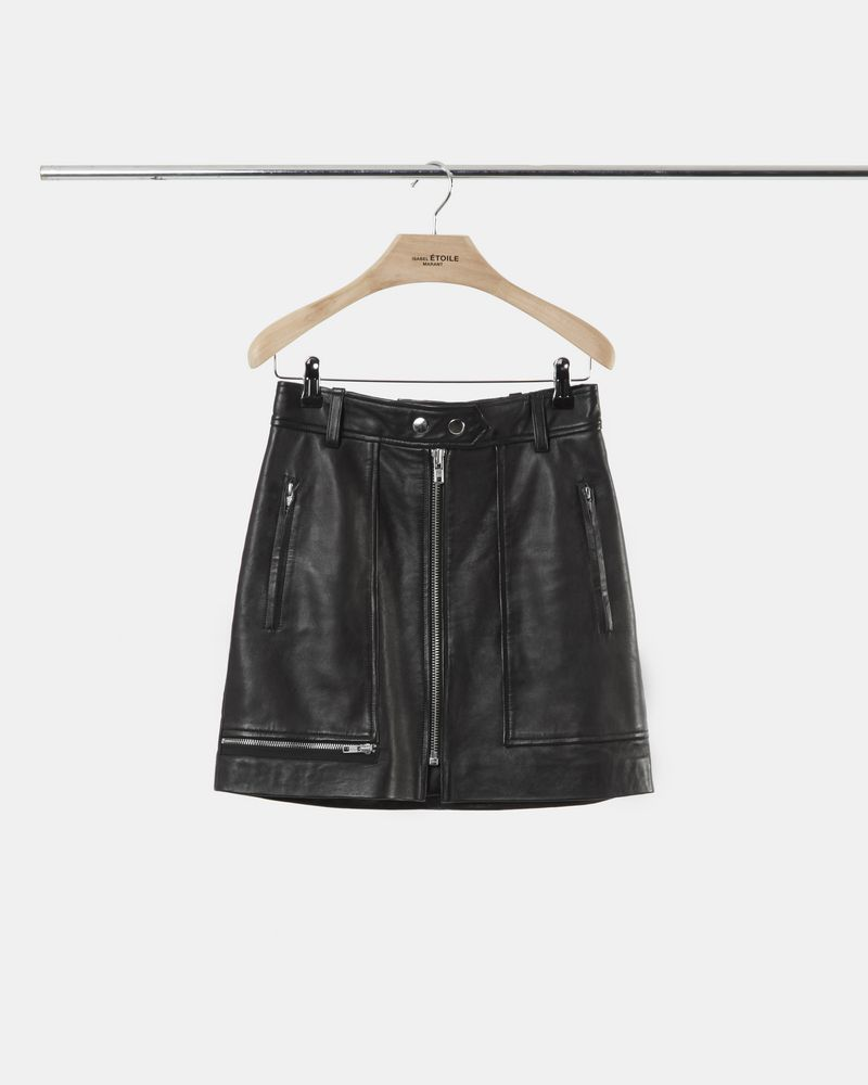 ALYNNA leather skirt ISABEL MARANT ÉTOILE