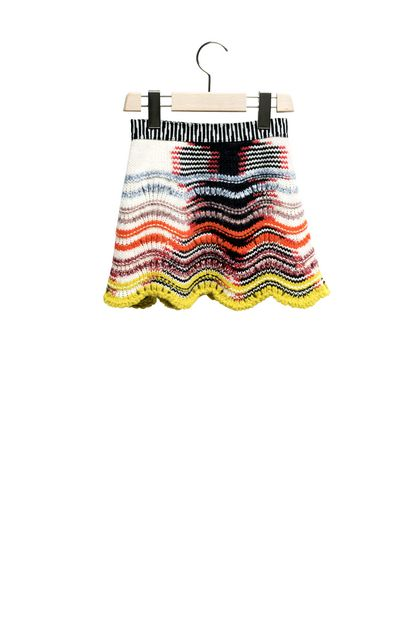 MISSONI KIDS Miniskirt White Woman - Front