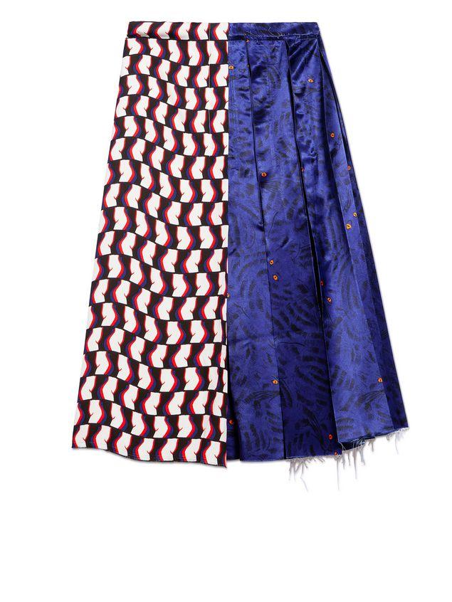 Marni Skirt in viscose satin with Joe print Woman - 2
