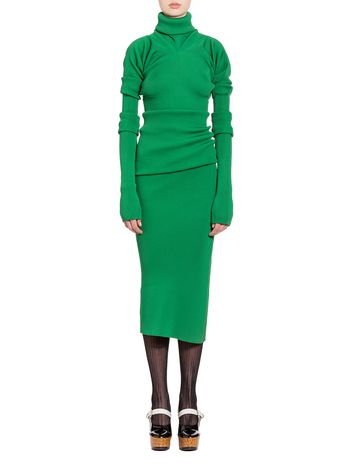 Marni Asymmetric skirt in viscose and polyester Woman