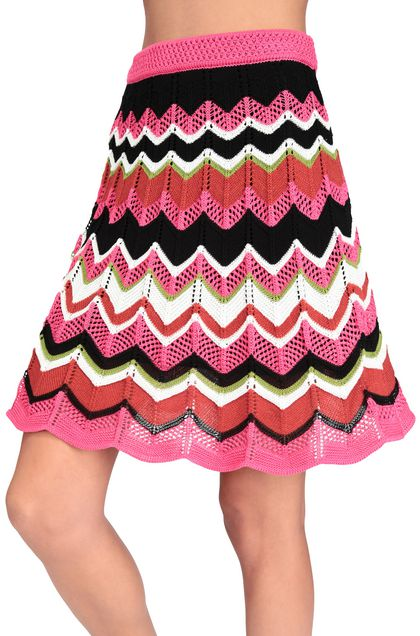 M MISSONI Skirt Fuchsia Woman - Front
