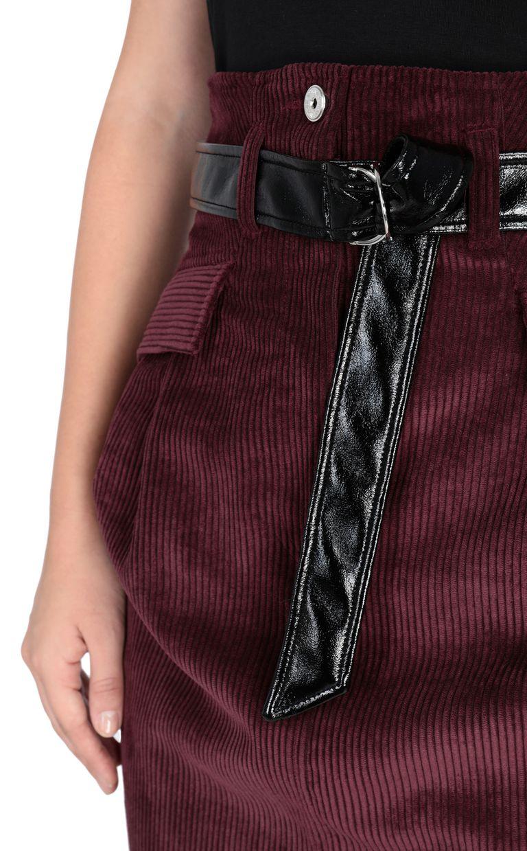 JUST CAVALLI Ribbed mini skirt Skirt [*** pickupInStoreShipping_info ***] e