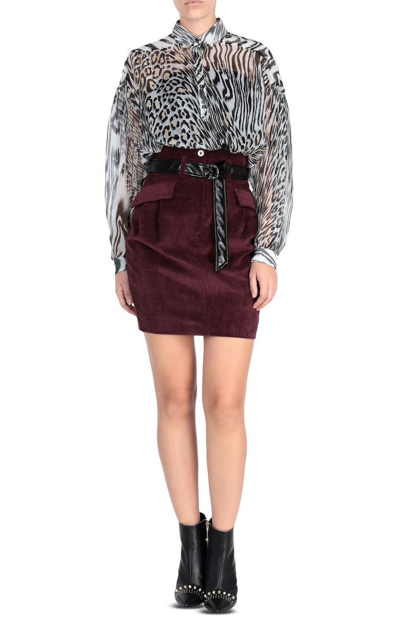 JUST CAVALLI Ribbed mini skirt Skirt [*** pickupInStoreShipping_info ***] r