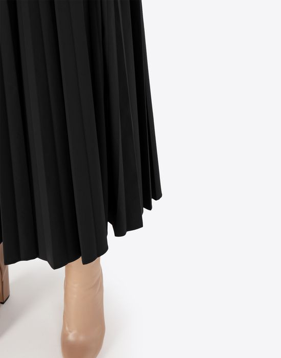 MAISON MARGIELA Long pleated skirt 3/4 length skirt [*** pickupInStoreShipping_info ***] b
