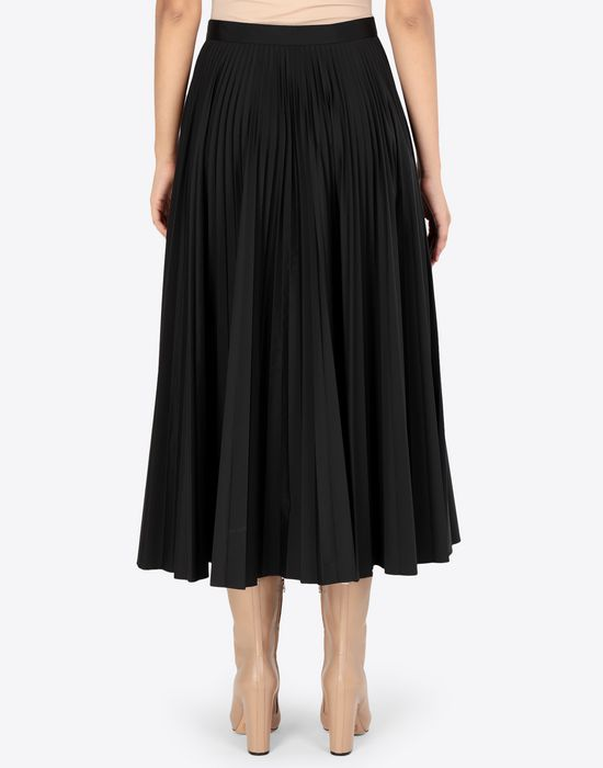 MAISON MARGIELA Long pleated skirt 3/4 length skirt [*** pickupInStoreShipping_info ***] e