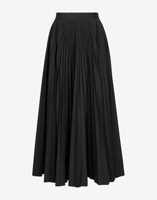 MAISON MARGIELA Long pleated skirt 3/4 length skirt [*** pickupInStoreShipping_info ***] f