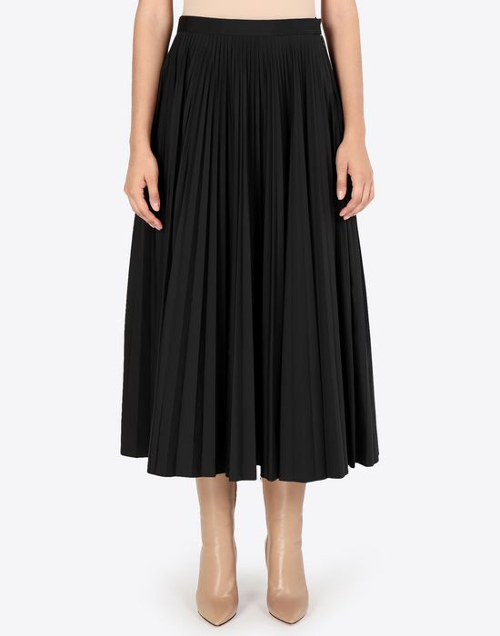 MAISON MARGIELA Long pleated skirt 3/4 length skirt [*** pickupInStoreShipping_info ***] r