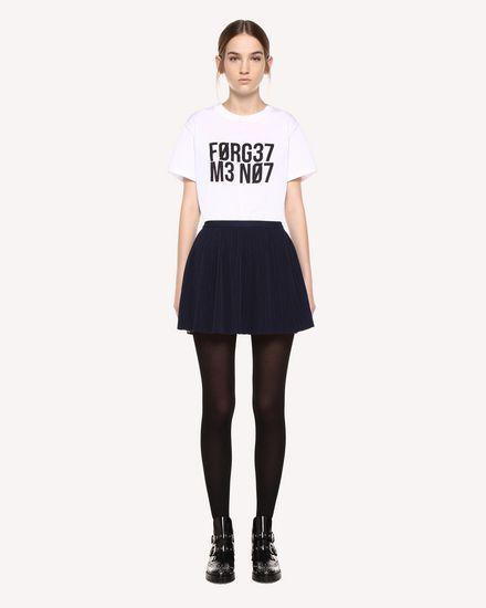 REDValentino Printed skirt Woman QR0RF1G5392 B01 f