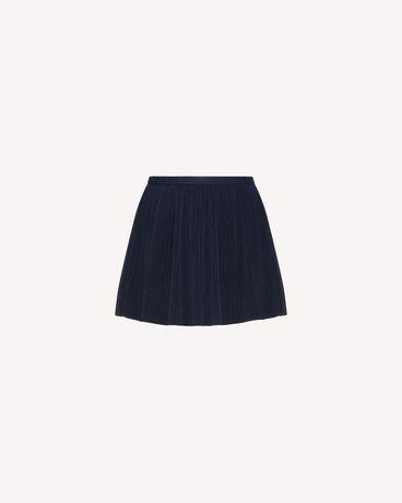 REDValentino QR0RF1G5392 B01 Printed skirt Woman a