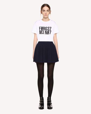 REDValentino QR0RF1G5392 B01 Printed skirt Woman f